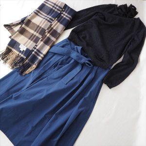 Drawer ブルー スカート