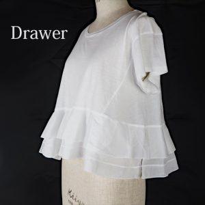Drawer裾ティアードカットソー